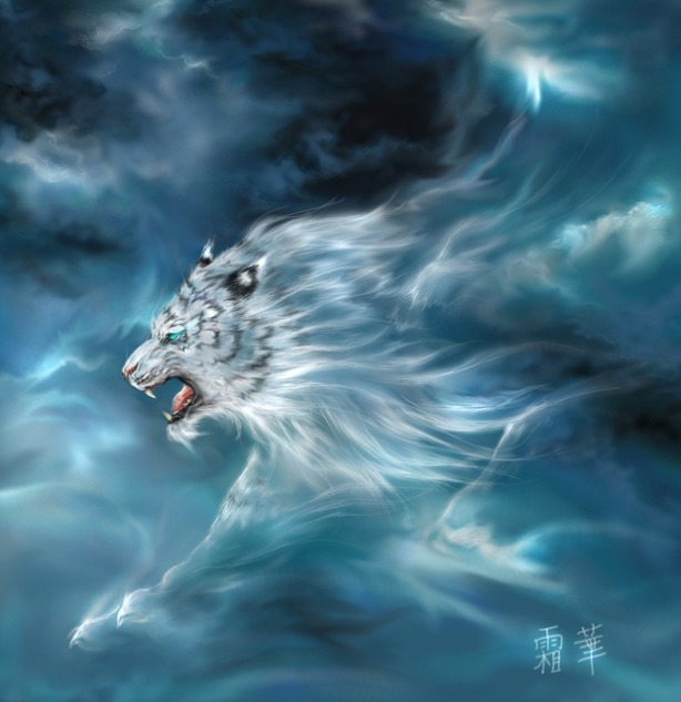 Gambar 4 Hewan Legenda Penjaga Mata Angin Di Korea hewan  Byakko